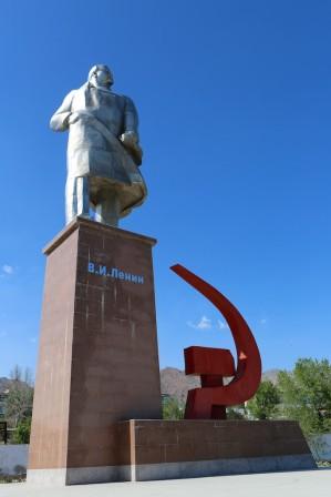Lenin i Kjudand, Tadjikistan. Foto: Johnny Friskilä