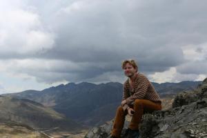 På 4250 meters höjd i Anderna i Venezuela.