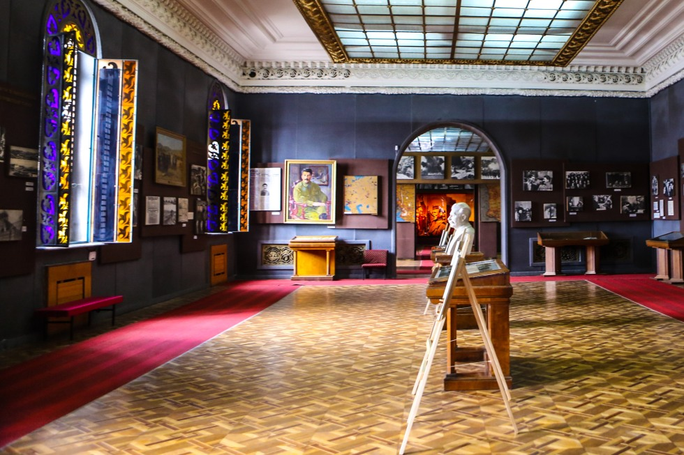 Stalin museum, Gori, Georgia. Foto: Johnny Friskilä