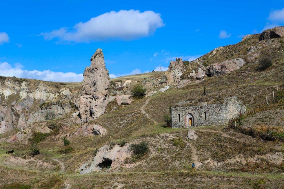 Khndzoresk, Armenien, foto: Johnny Friskilä