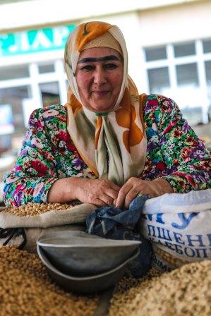 Siyob-marknaden, Samarkand, Uzbekistan. Foto: Johnny Friskilä