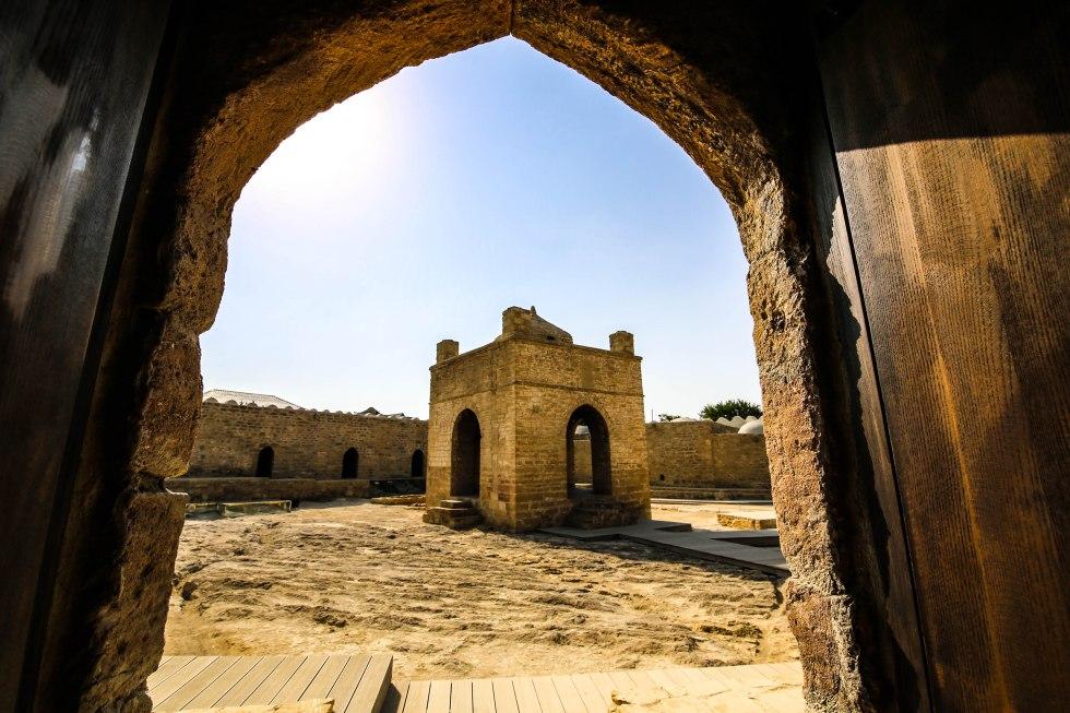Ateshgah, Baku, Azerbajdzjan. Foto: Johnny Friskilä