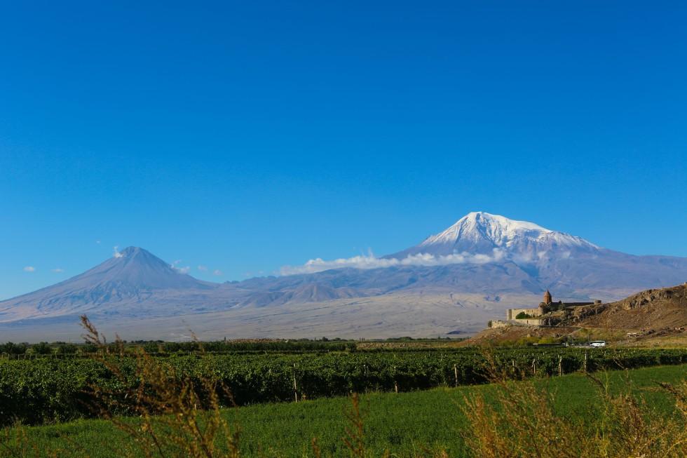 Khor Virap, Ararat. Foto: Johnny Friskilä