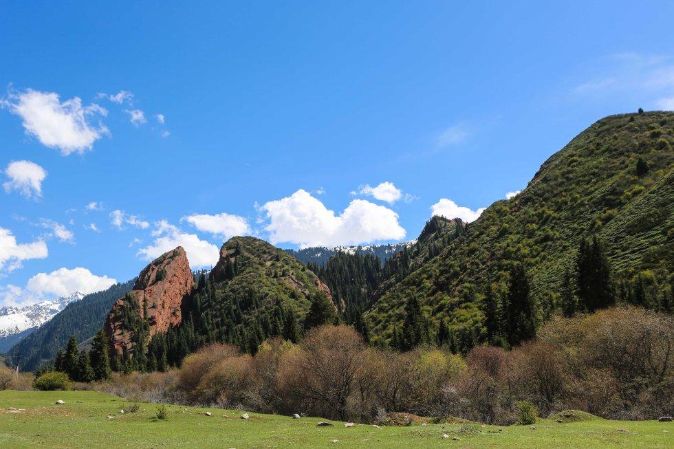 Jeti Oguz, Kirgizistan. Foto: Johnny Friskilä