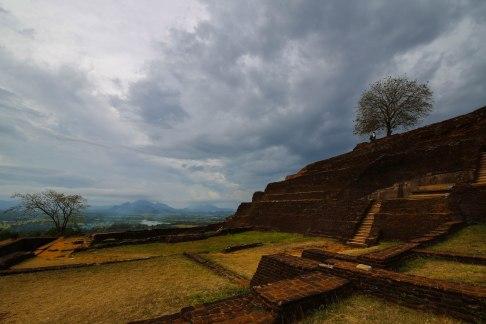 Wideangle view from Sigiriya, Sri Lanka