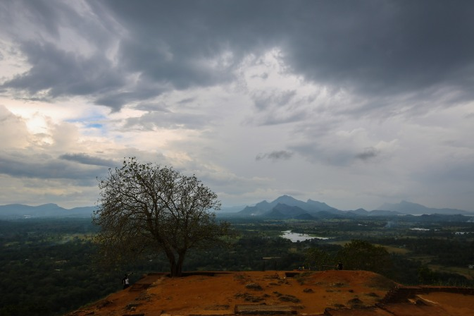 View from the top of Sigiriya, Sri Lanka