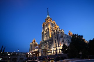 hotel-ukraina-blue-hour