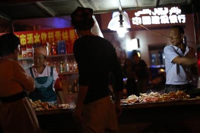 turpan-by-night-street-food