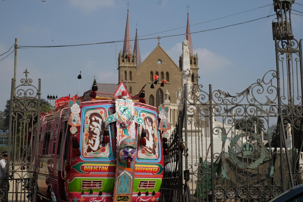Saint Patrick´s Cathedral in Karachi