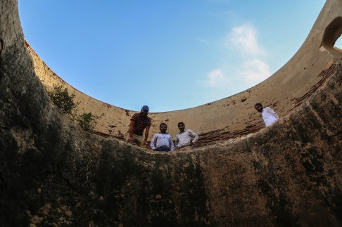 Ruins at the Nekropolis at Makli Hill, Thatta