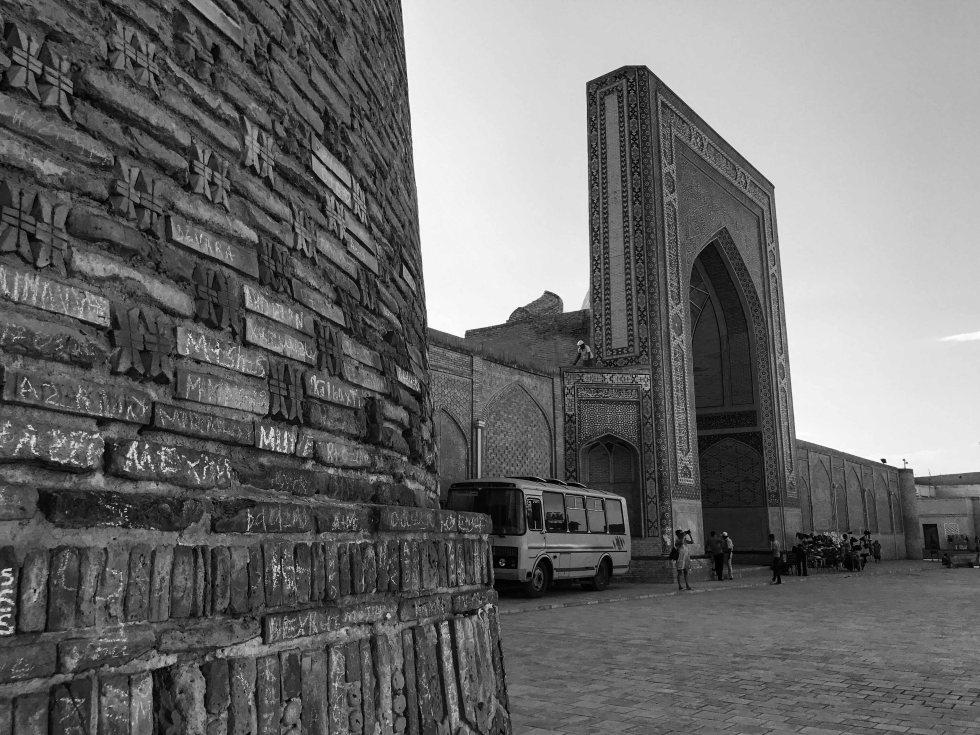 Uzbekistan 2017 Black White-4