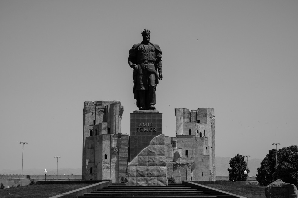 Uzbekistan 2017 Black White-6