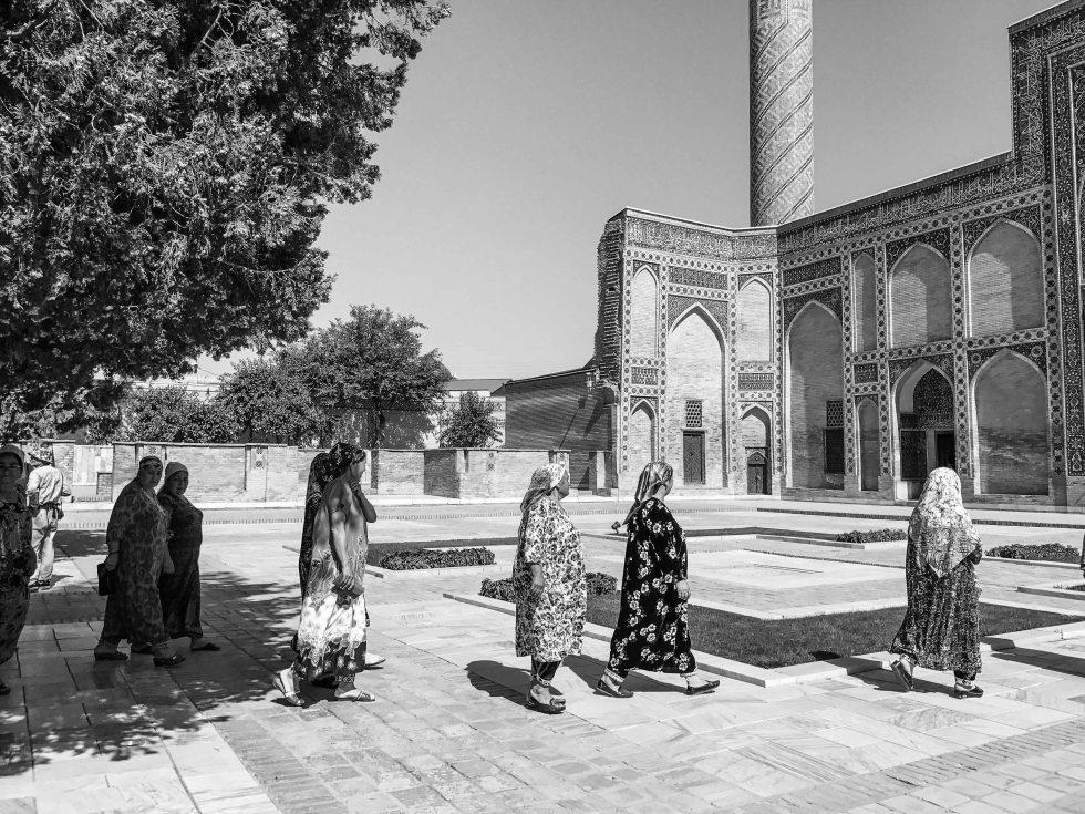 Uzbekistan 2017 Black White-9
