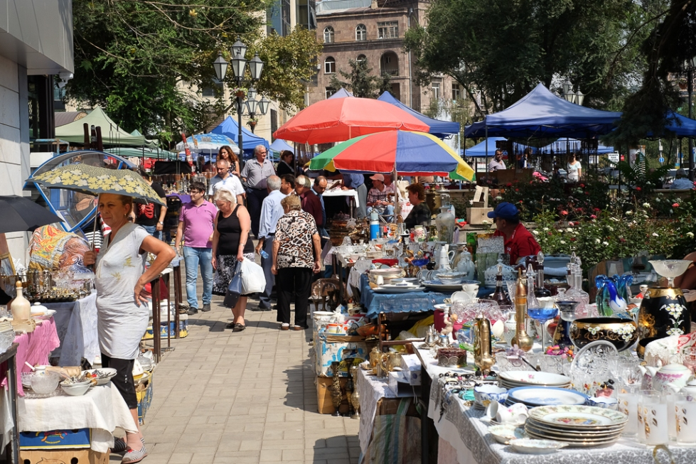 Flea Market Vernissage Yerevan-1