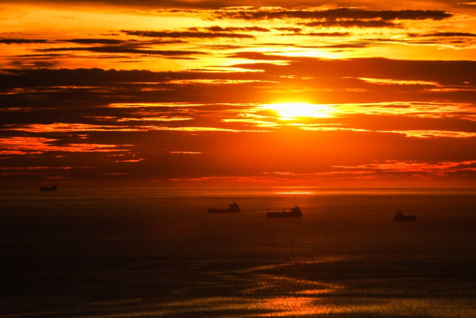 Sunrise Vidigal Rio-1