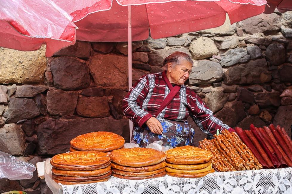 Armenia Gata Bread at Geghard-1