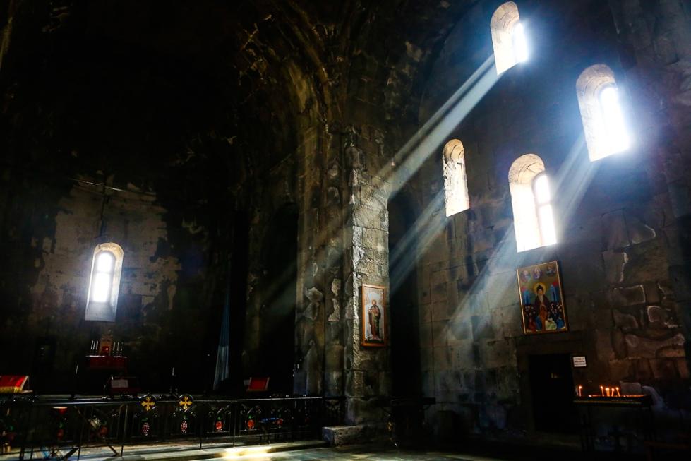 Armenia Tatev Monastery inside-1