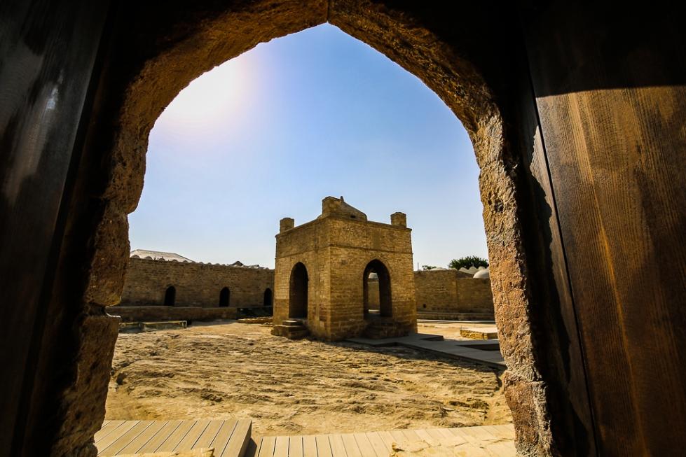 Azerbaijan Baku Ateshgah fire temple 2015-1