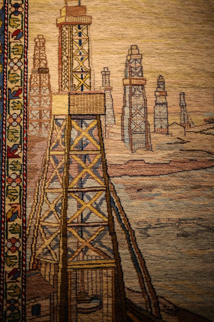 Azerbaijan Carpet Museum Socialist Realism 2016-1
