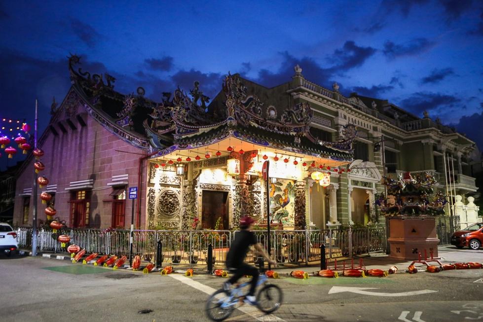 Georgetown Penang by night-3