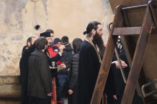 En av prästerna i Mtskheta