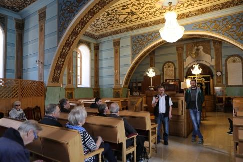 Besök i Tbilisis största synagoga