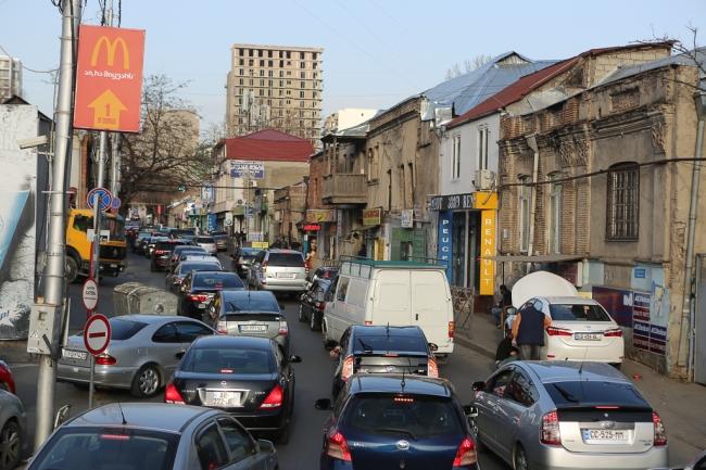Trafikproblem i huvudstaden