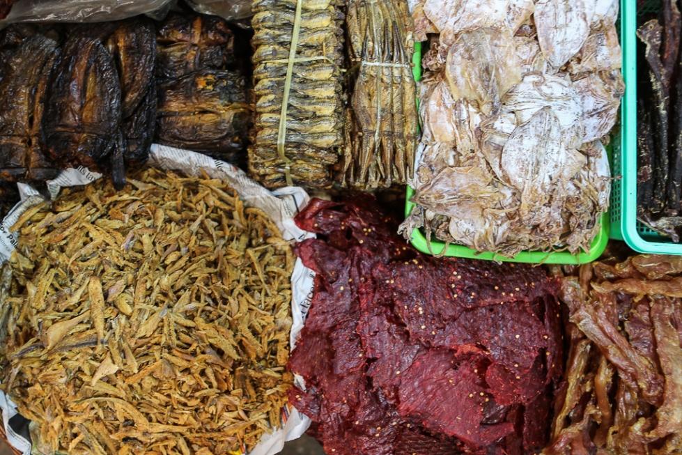 Siem Reap Market Dried Fish-1