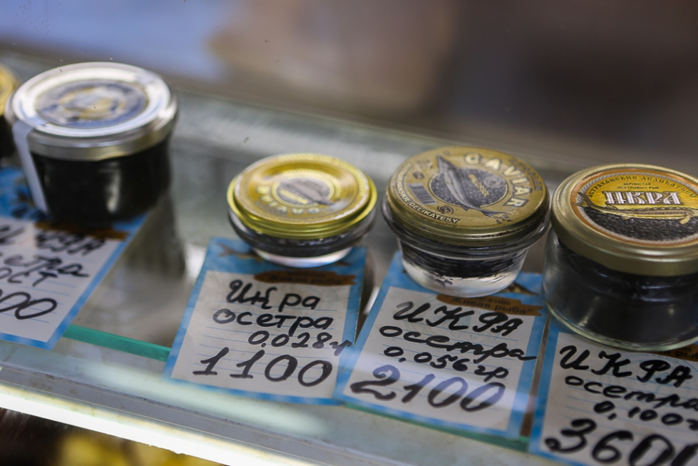 Fish Market Caviar Astrakhan-8624