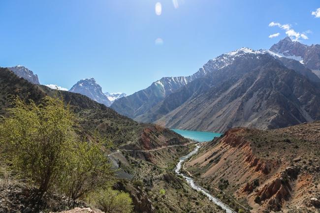 Iskanderkul Lake View Tajikistan-5616