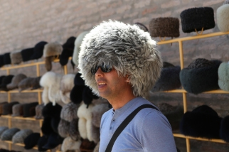 Khiva Guide Umid with hat-5009