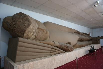 Sleeping Buddha Dushanbe-2