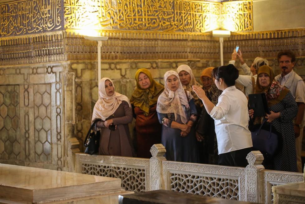 Gur Emir Mausoleum Samarkand Uzbekistan-1012