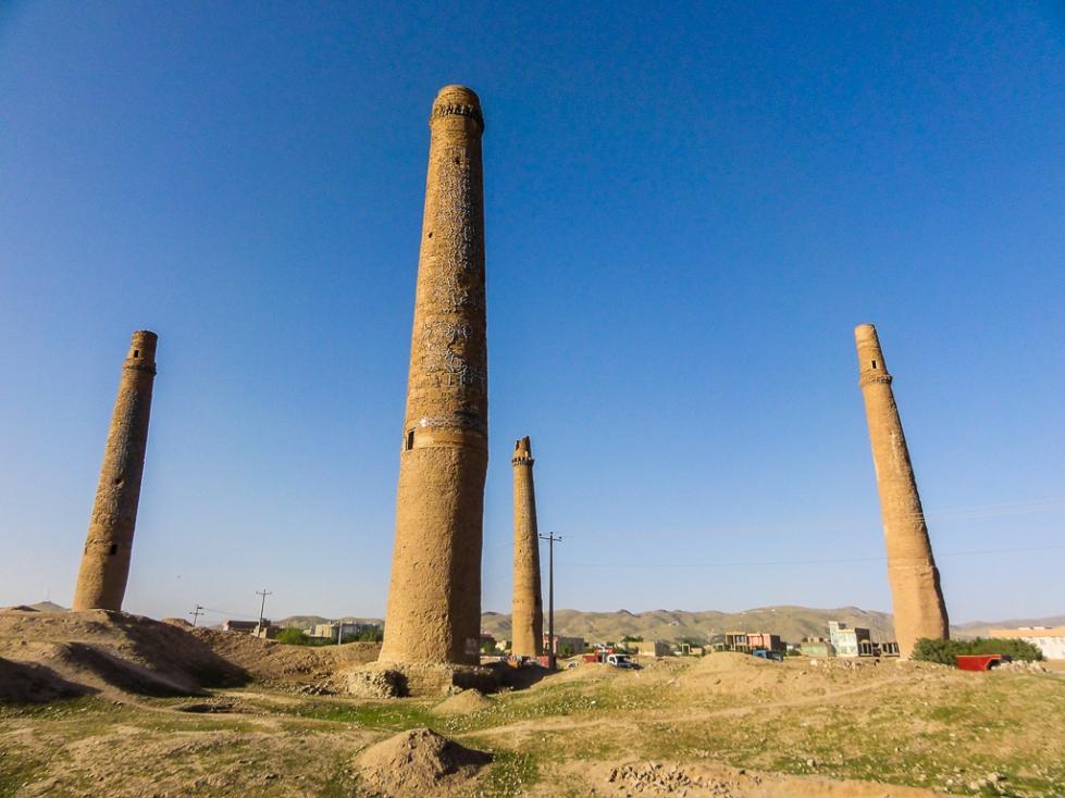 Afghanistan Herat Minarets of Sultan Baiqara-02926